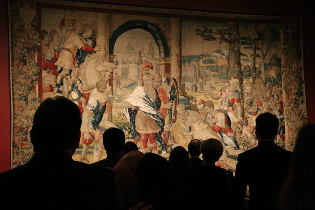 """Woven Gold: Tapestries of Louis XIV"" Getty Museum"