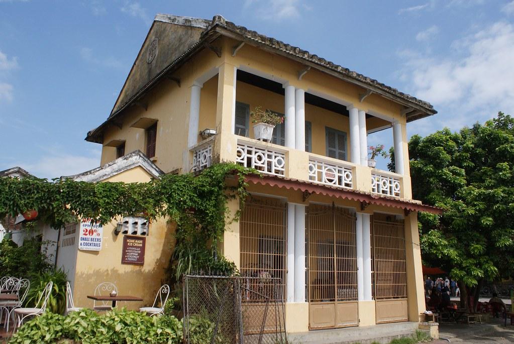 Petite maison sans prétention mais néanmoins charmante à Hoi An au Vietnam.