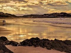 Playa de Gerra y Merón. Cantabria.