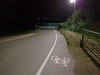 New cycle route, green park - closed at night, wtf