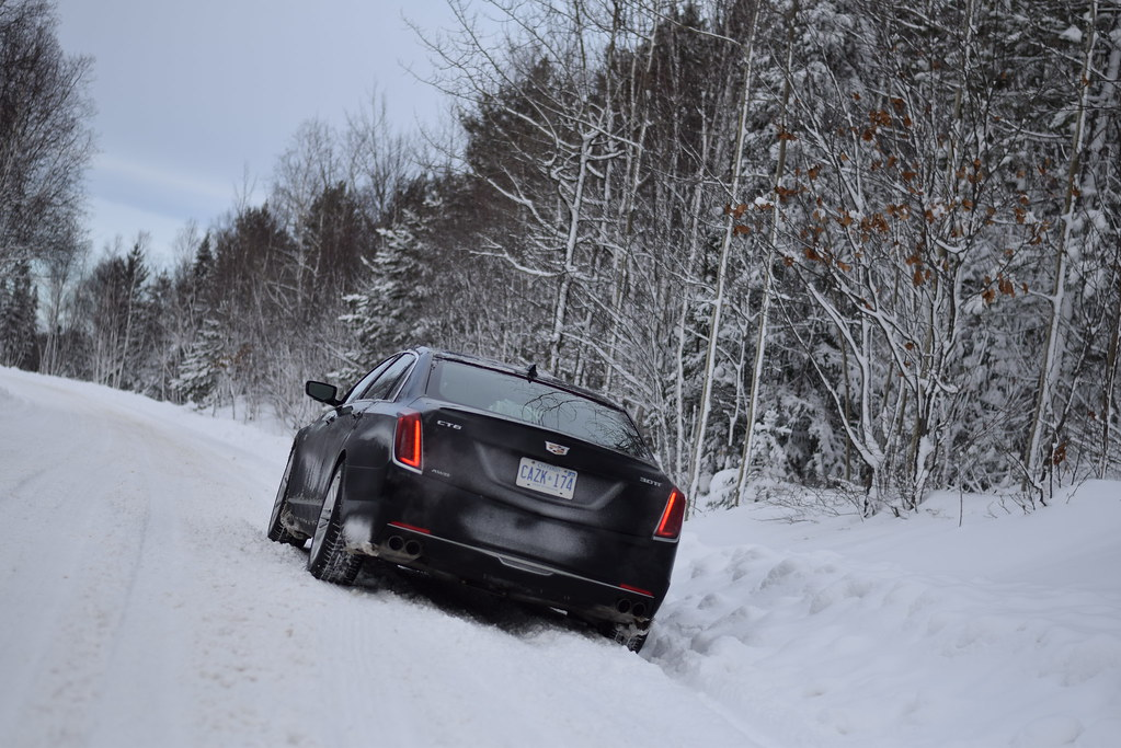 UPDATED: 2017 Cadillac CT6 AWD vs Snowstorm » Justin Pritchard