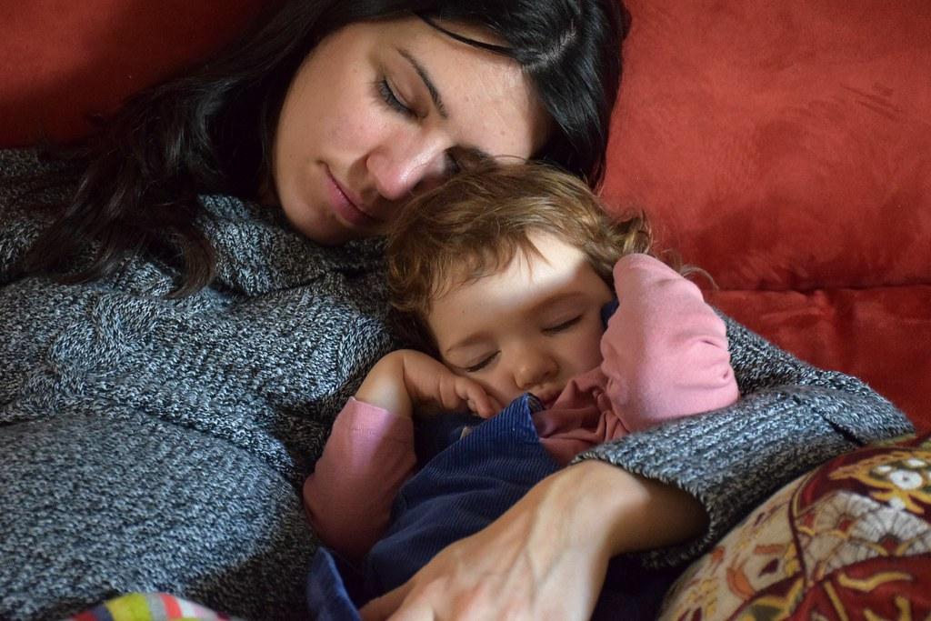 ¡Nos encantan las siestas así de pegaditas!