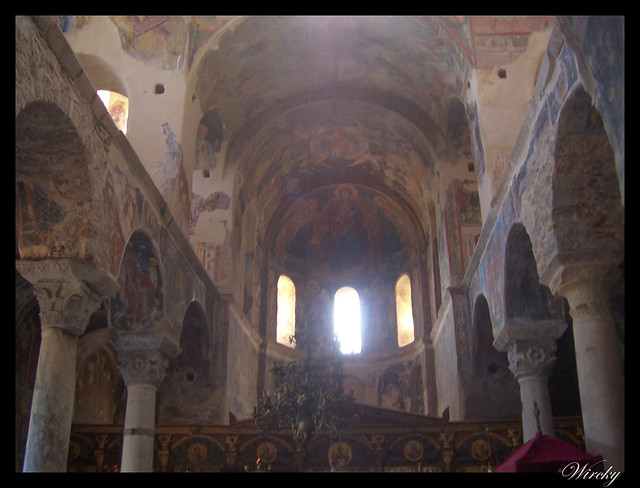 Grecia Nauplia Esparta Mistrás Olimpia - Interior Monasterio Pantanassa