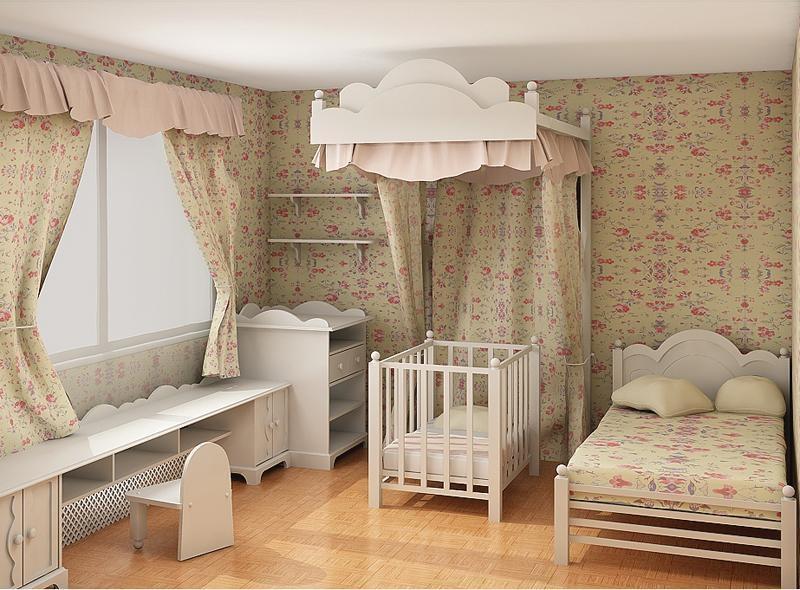 Bố trí phòng ngủ hợp phong thủy để bé không mất ngủ và khóc đêm