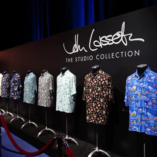 ジョン・ラセターのアロハシャツコレクション。
