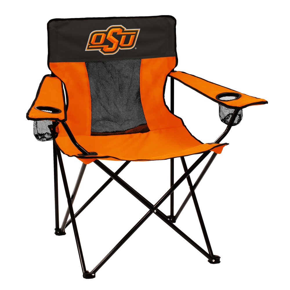 Oklahoma State Elite TailGate/Camping Chair
