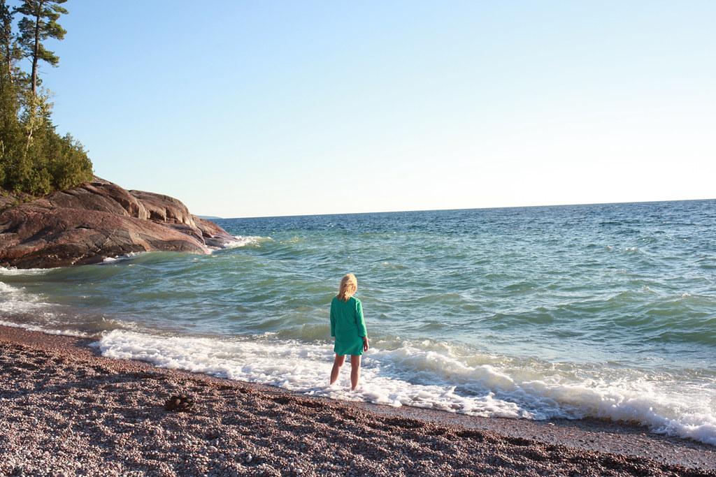 Lake Superior - Enjoying the Water