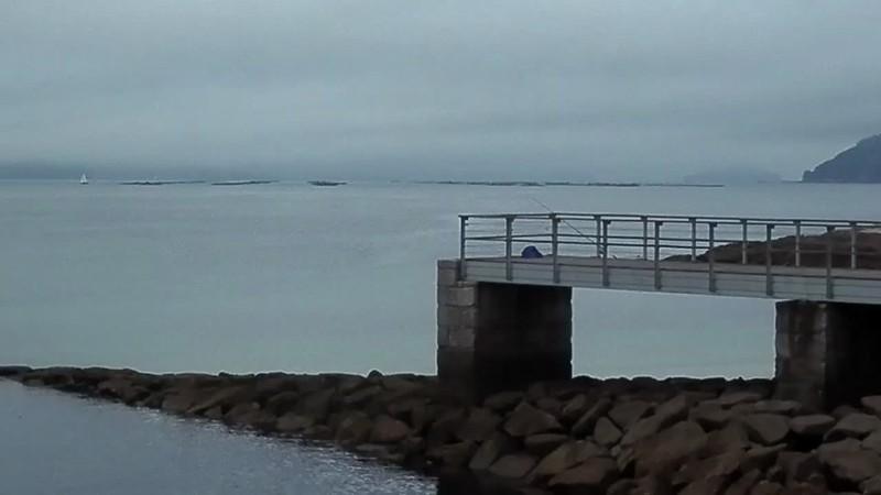 Mar inquietantemente quieto