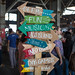 SF Food Festival Sign by Schill
