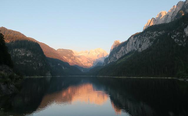 Dachstein saulrietā