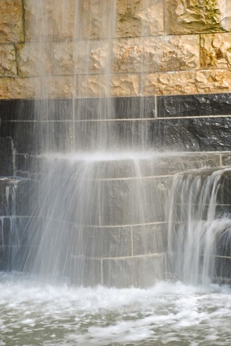 Closeup of Waterfall