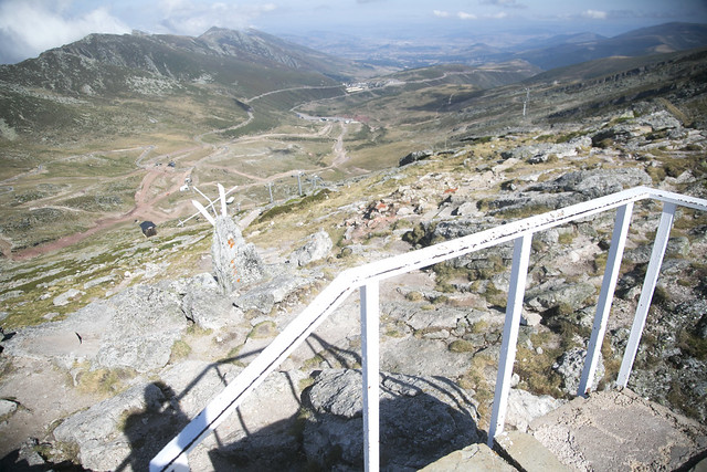 Subiendo a Pico Tres Mares