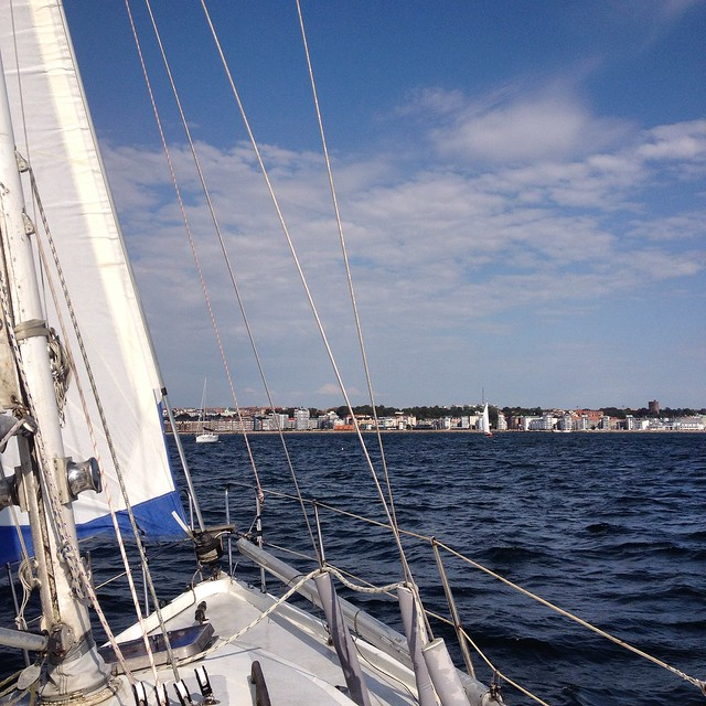 sailing in öresund