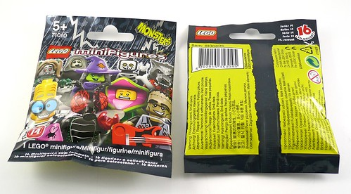 LEGO 71010 Collectible Minifigures Series 14 Monsters pack