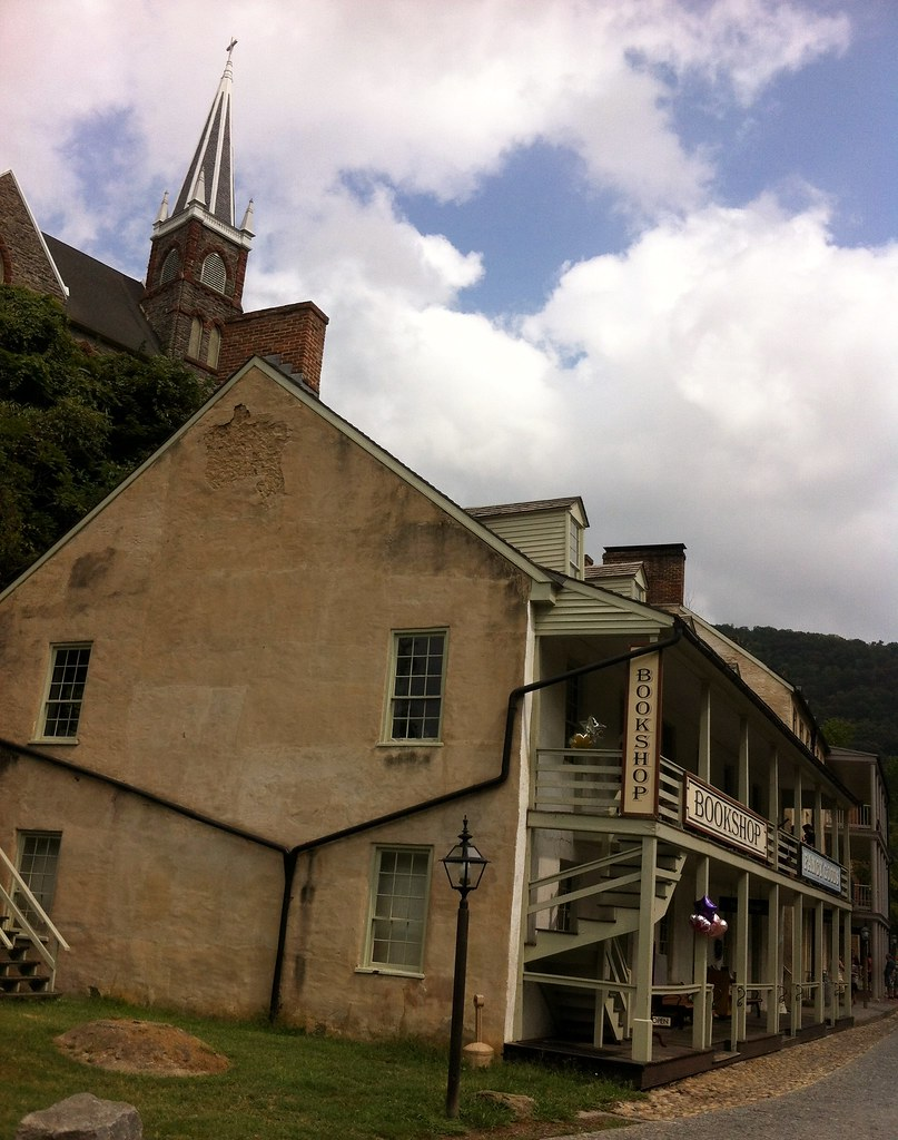 Harpers Ferry Church and bookshop