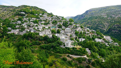 village mountain buildings hill landscape outdoor beauty greece epirus tzoumerka mountainside hellas stone πέτρα χωριό βουνό architecture tradition