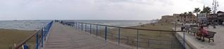 صورة  Пляж у отеля Sun Hall ساندي بيتش.