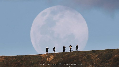 Photographers Moonrise