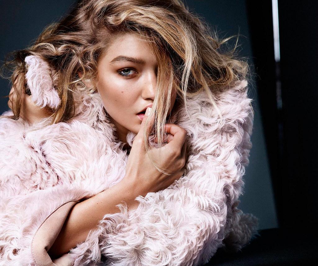 Джиджи Хадид — Фотосессия для «Vogue» NL 2015 – 2