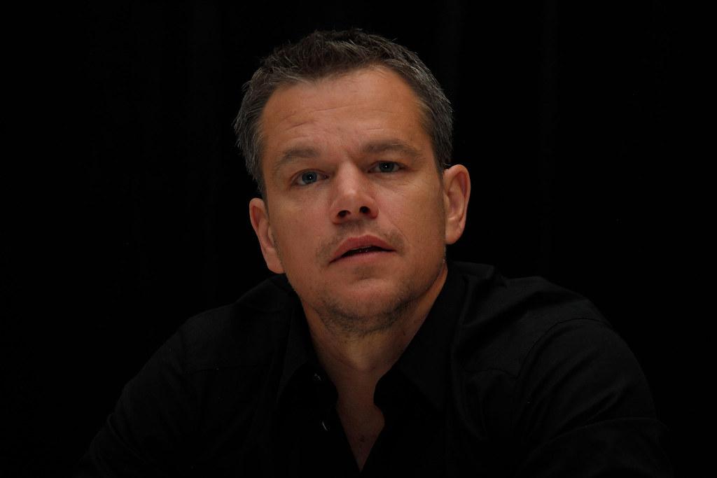 Мэтт Деймон — Пресс-конференция «Марсианин» на «TIFF» 2015 – 4