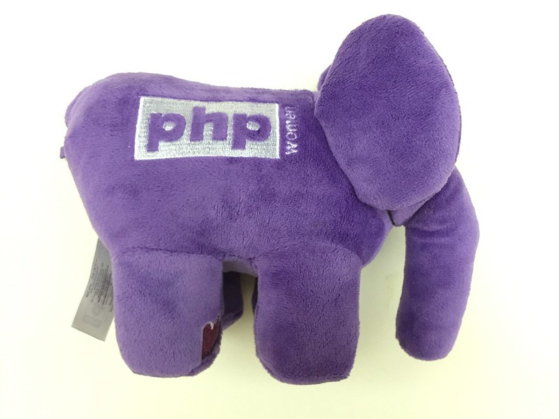 PHP ElePHPant (Purple) Plush Toy - Right