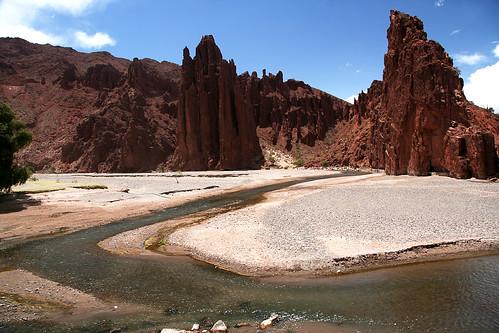 rio fiume bolivia canyon sudamerica tupiza riosanjuan eltoroyoj toroyoc valletoroyoc