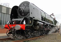LMS Princess Coronation Class No. 46233 'Duchess of Sutherland'.