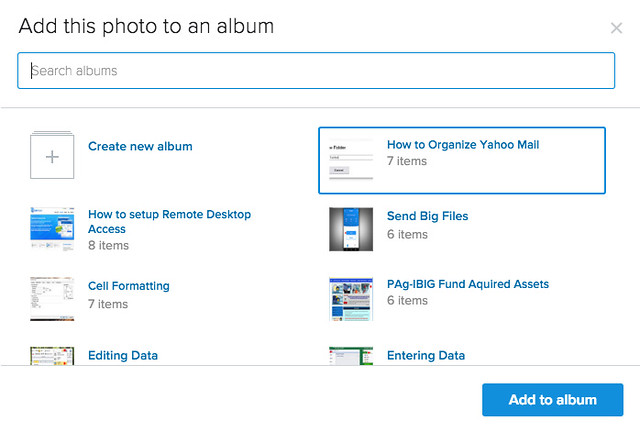 How to organize photos on Flickr6