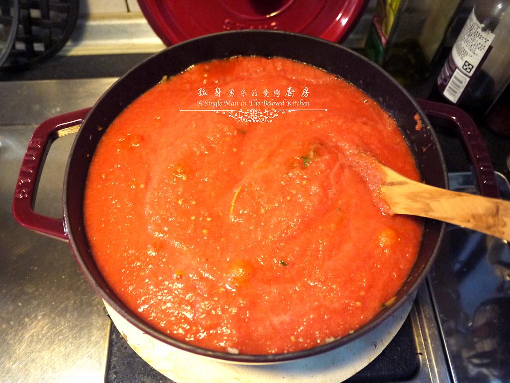 孤身廚房-義大利茄汁紅醬罐頭--自己的紅醬罐頭自己做。不求人16