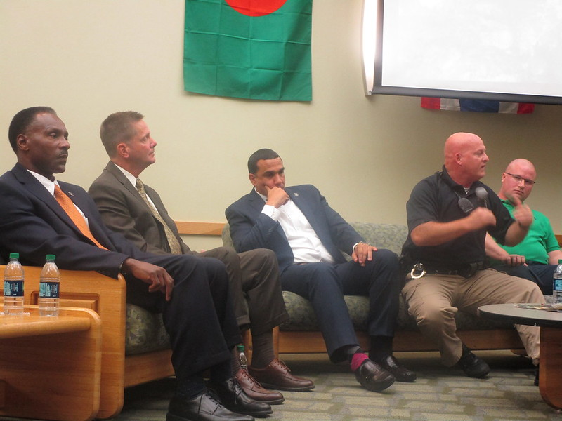 Black Student Union hosts forum with UDPD