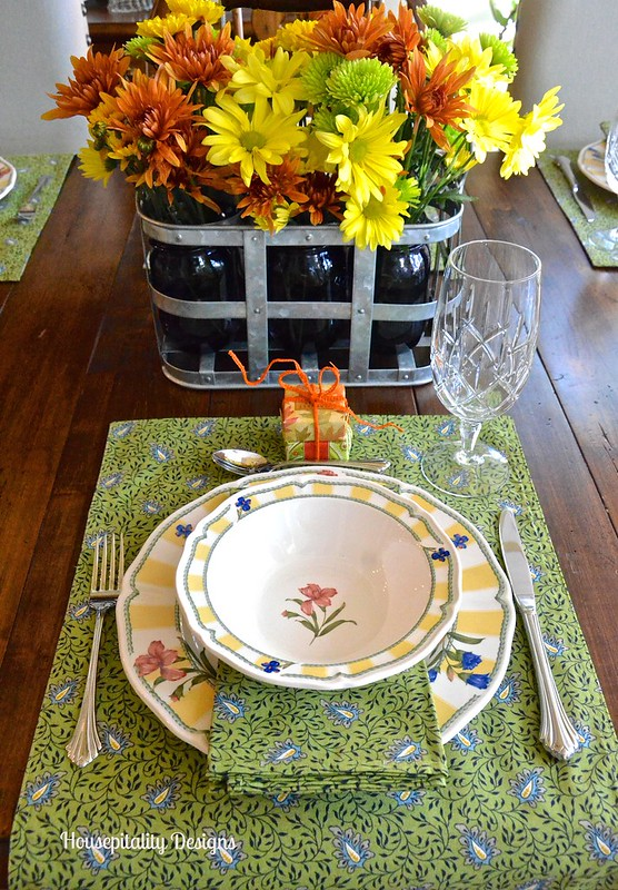 Fall Brunch Table Setting - Housepitality Designs