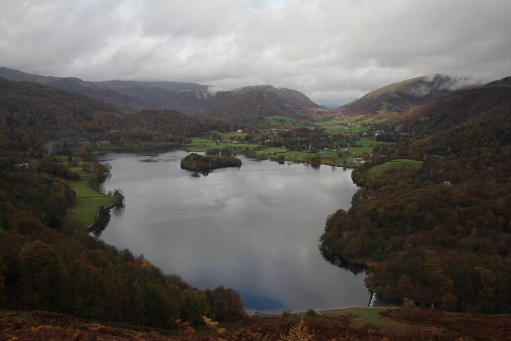 high close, skelwith force, loughrigg fell, grasmere