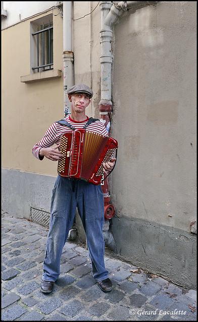 Hervé Haine l'accordéoniste