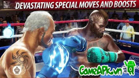 Real Boxing 2 CREED v1.0.0 hack full tiền cho Android