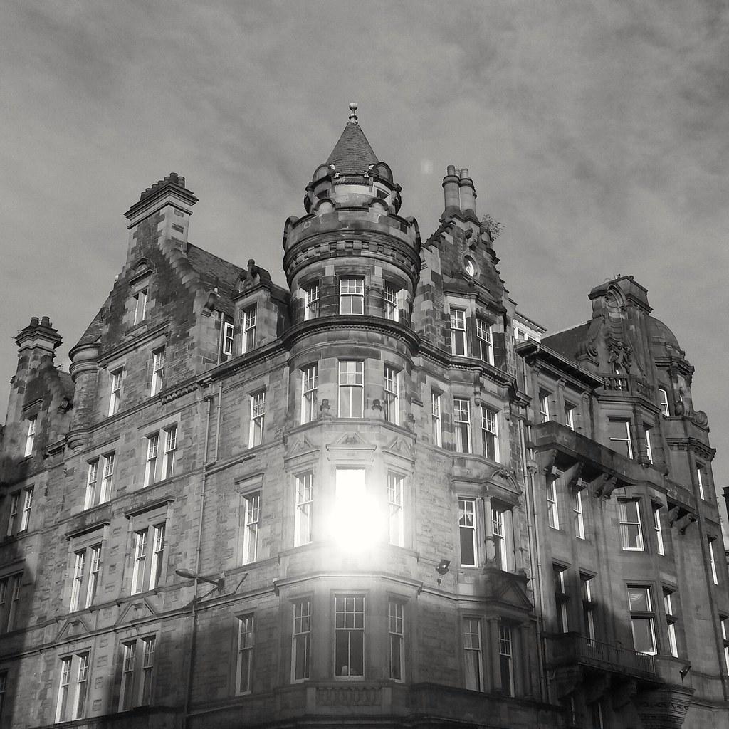 vanha kaupunki, Edinburgh, Skotlanti, UK