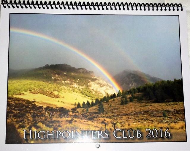 2015 Highpointers Calendar