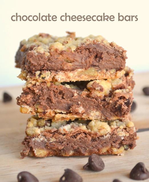 Chocolate Cheesecake Bars 2