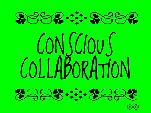 Buzzword Bingo: Conscious Collaboration = Working together on the same page