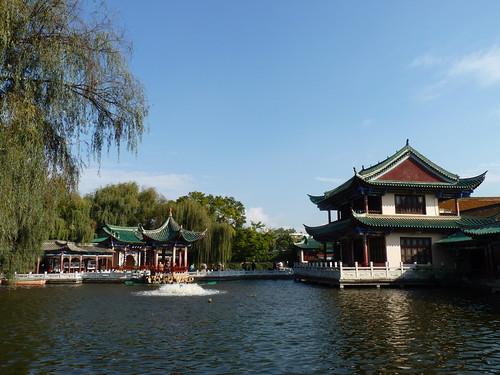 Ciuhu Park / Green Lake Park (翠湖公园), Kunming, Yunnan, China