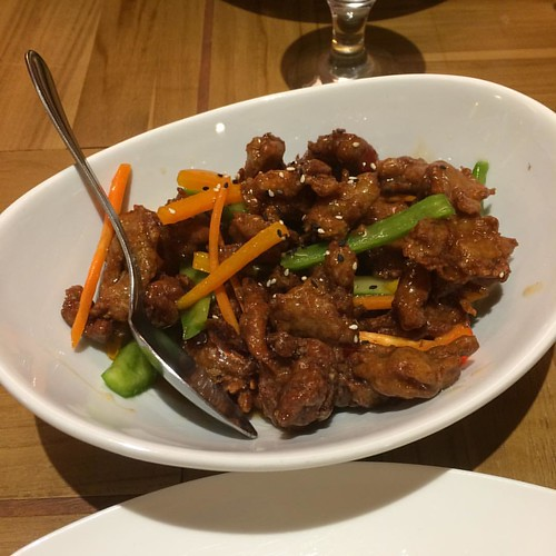 General Tao Chicken #yegfood