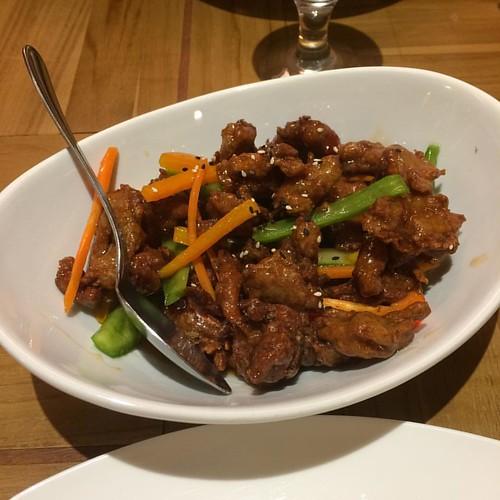 General Tao Chicken #yegfood