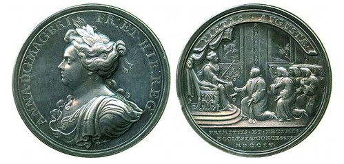 Queen Anne's Bounty Medal 1704
