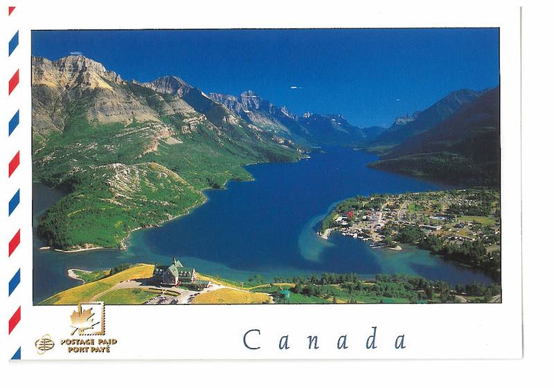 Canada - Alberta - Upper Waterton lake