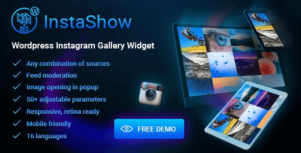 Codecanyon InstaShow v1.4.3 – WordPress Instagram Gallery Widget