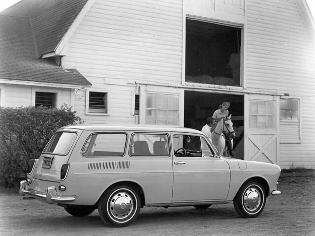 Универсал Volkswagen 1600 Variant (Typ 3). 1964 – 1969 годы