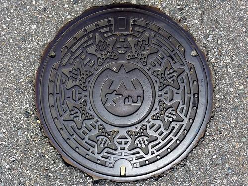 Oyama Toyama, manhole cover (富山県大山町のマンホール)