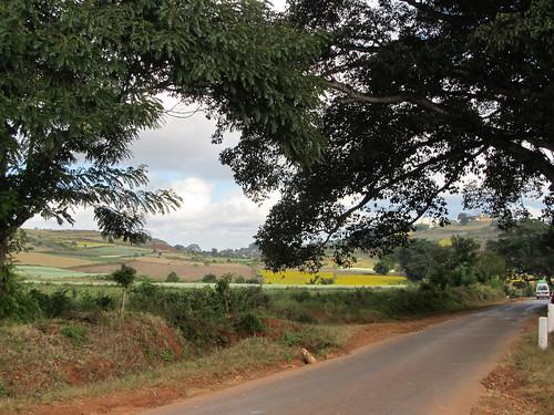 Sur la route vers Pindaya