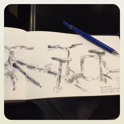 #bicicletas #pencil #pilot