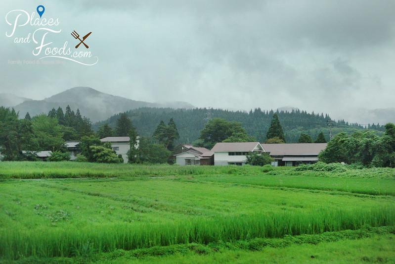 akita japan scenery
