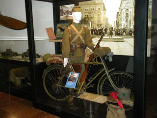 Bicycle soldier